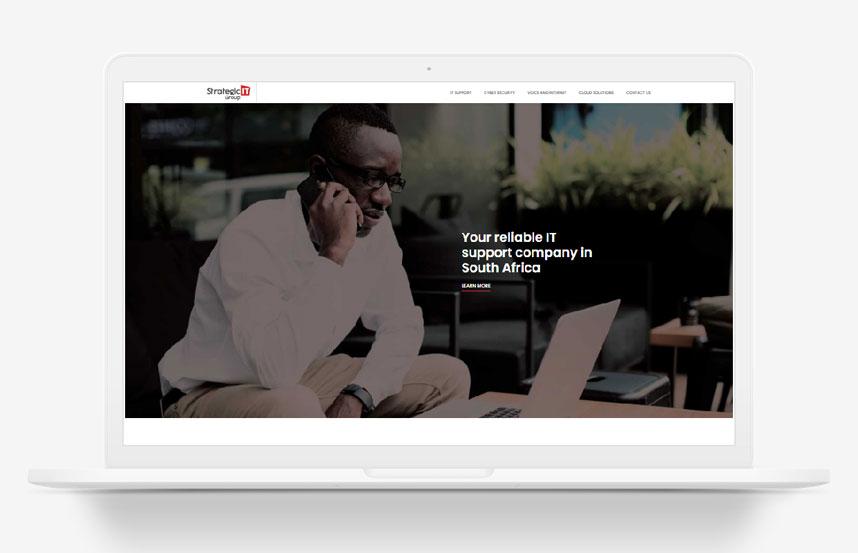 Strategic IT Group WordPress Website Design Johannesburg